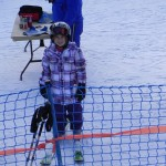 Belle at Ski Lessons - POMA